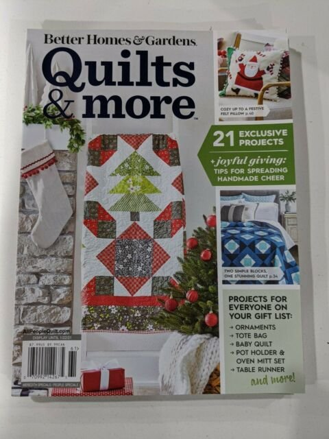 Quilts & More - Better Homes & Gardens Magazine
