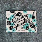 Sewing Supplies Zipper Bag
