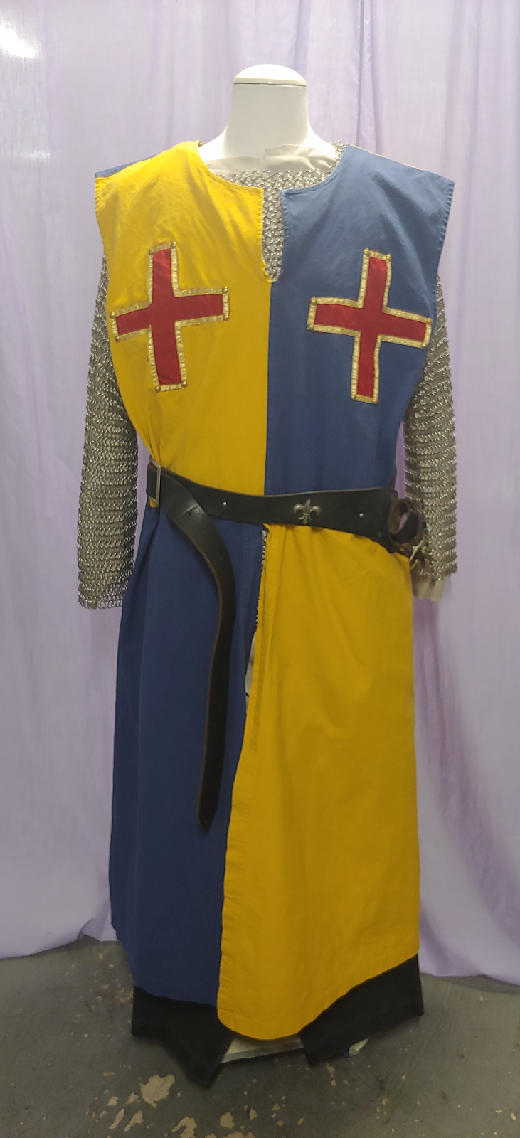 Blue and Yellow Knight