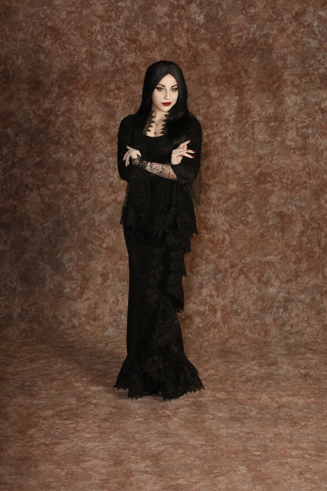 Addams Family - Morticia Black Dress