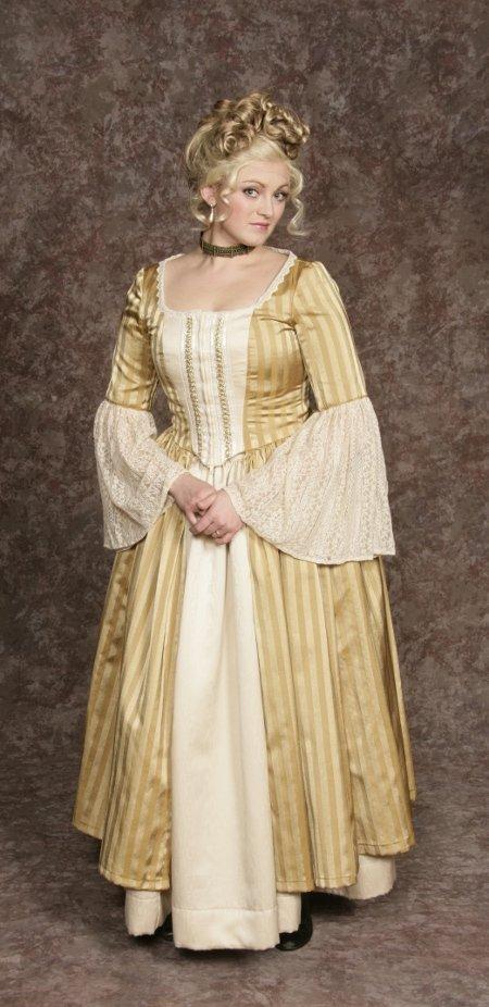 Aristocrat Dress Gold