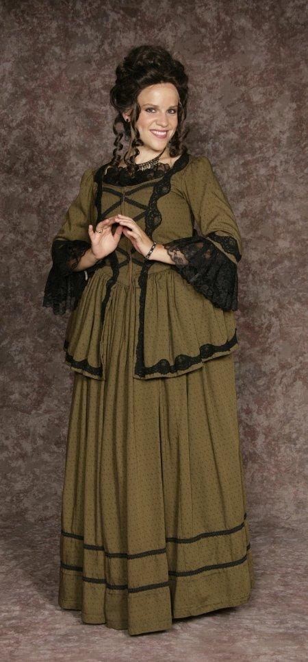 Aristocrat Dress Olive