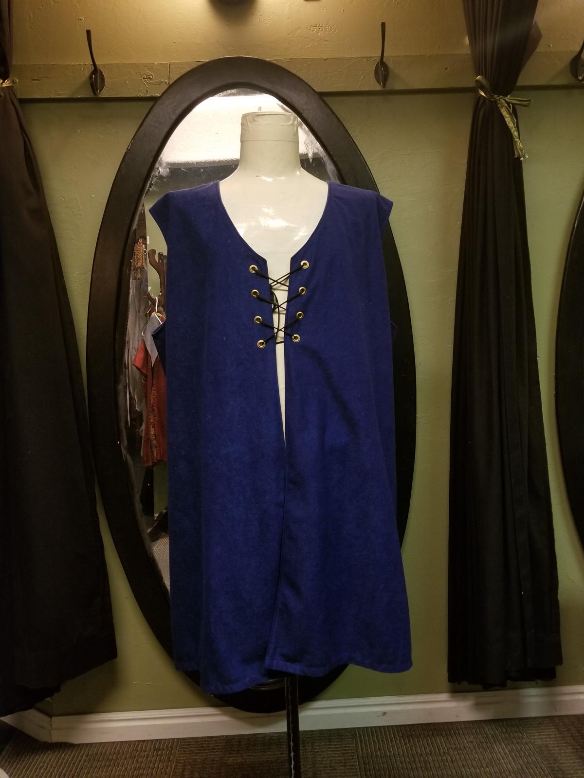 Medieval Extra Blue Felt Tunic