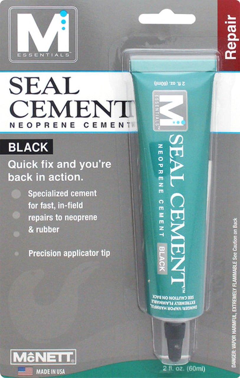 SEAL CEMENT 2 oz - Black
