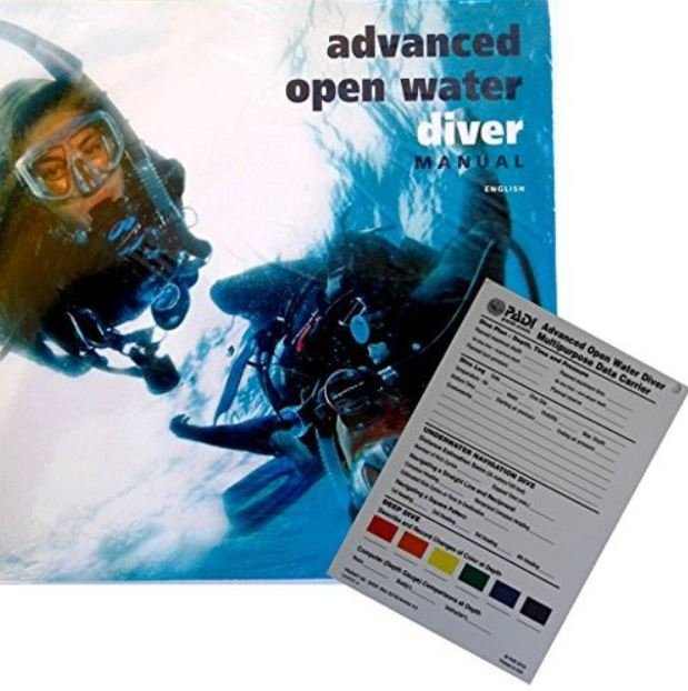Advanced Open Water Manual (Includes Data Carrier Slate)