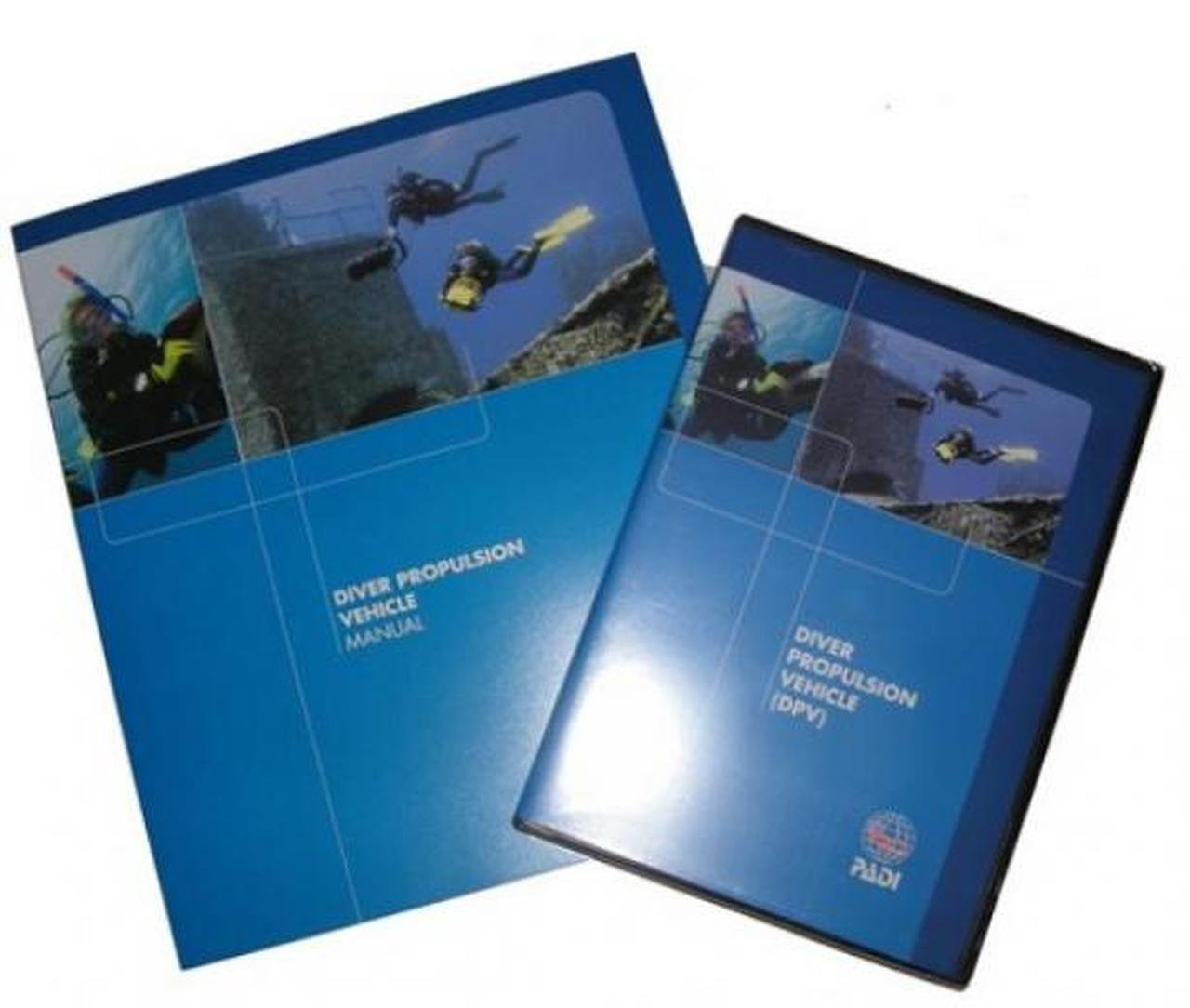 Diver Propulsion Vehicle (DPV) Crew-Pak with DVD and Manual