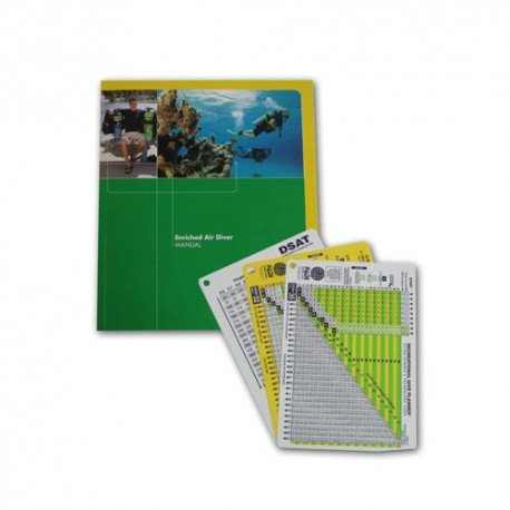 Enriched Air Diver Specialty Manual with Tables, Imperial