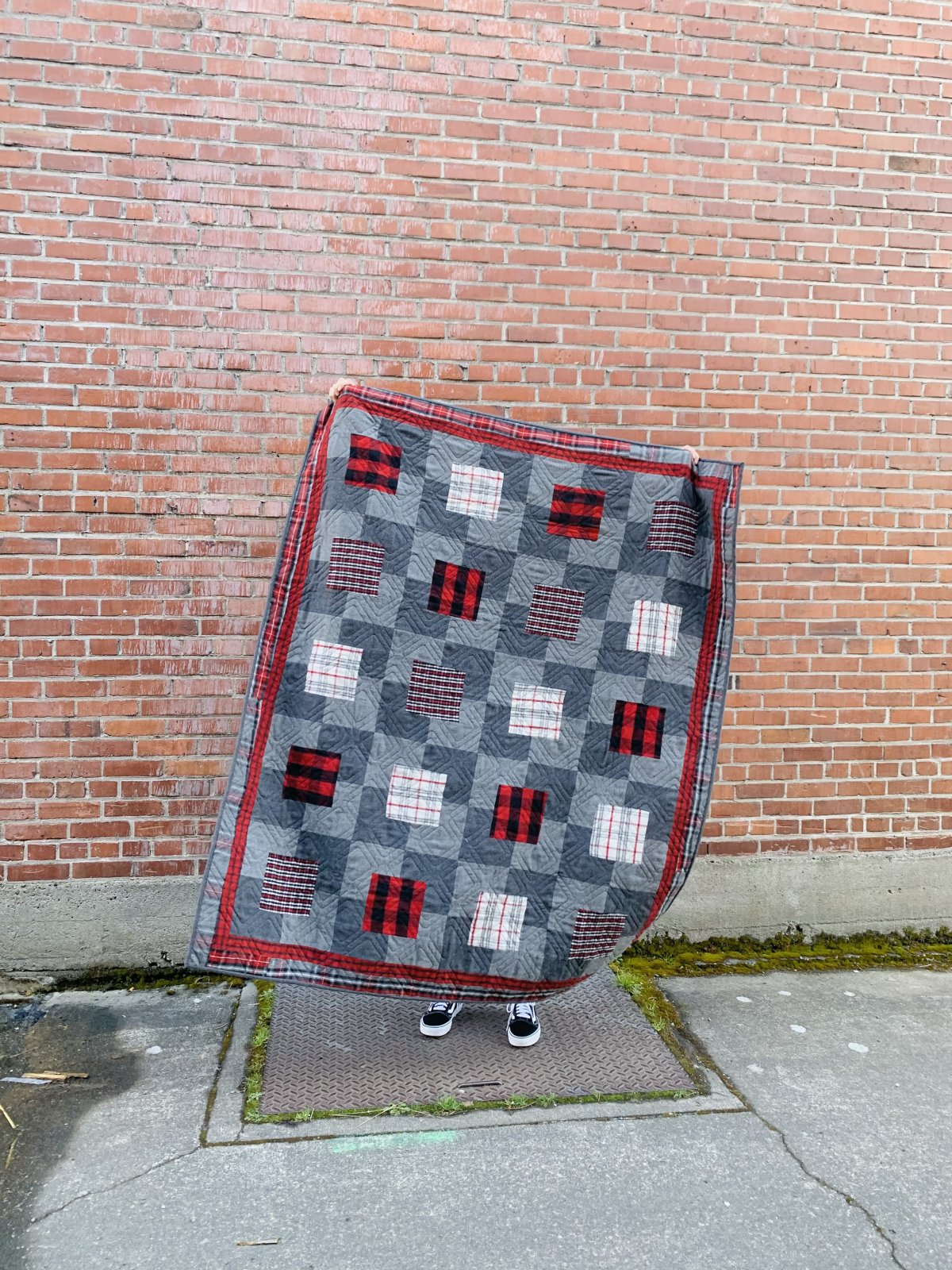 Crackers and Cheese Quilt Kit (FLANNEL)