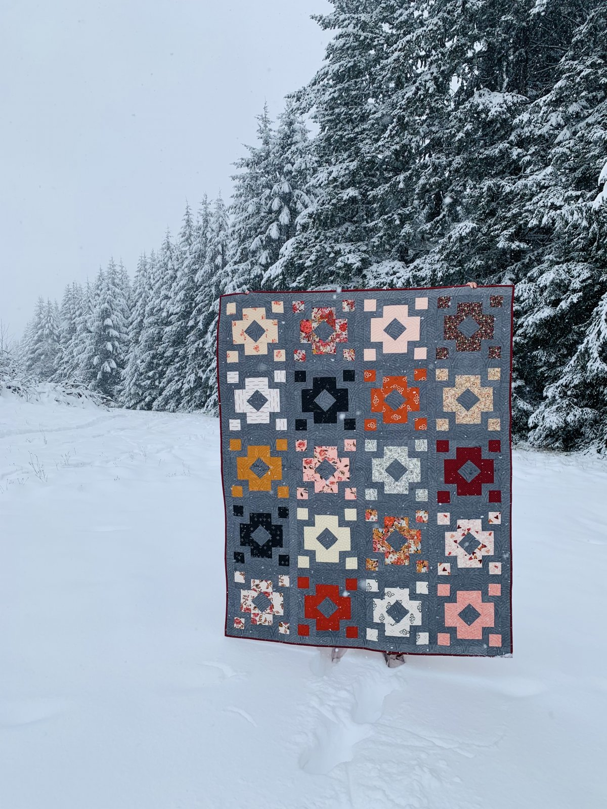Diamond Lantern Quilt Kit