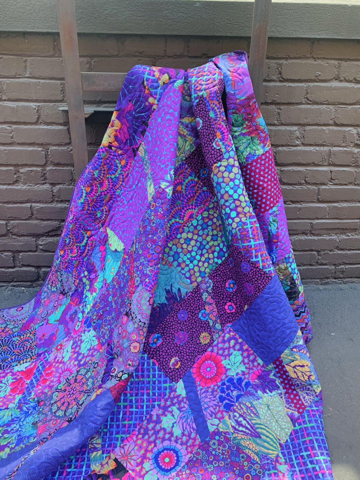 Available Now! RESTOCKED!!! Purple Haze Quilt Kit