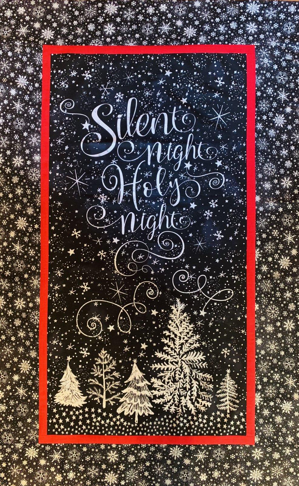 Chalkboard Christmas Quilt Kit