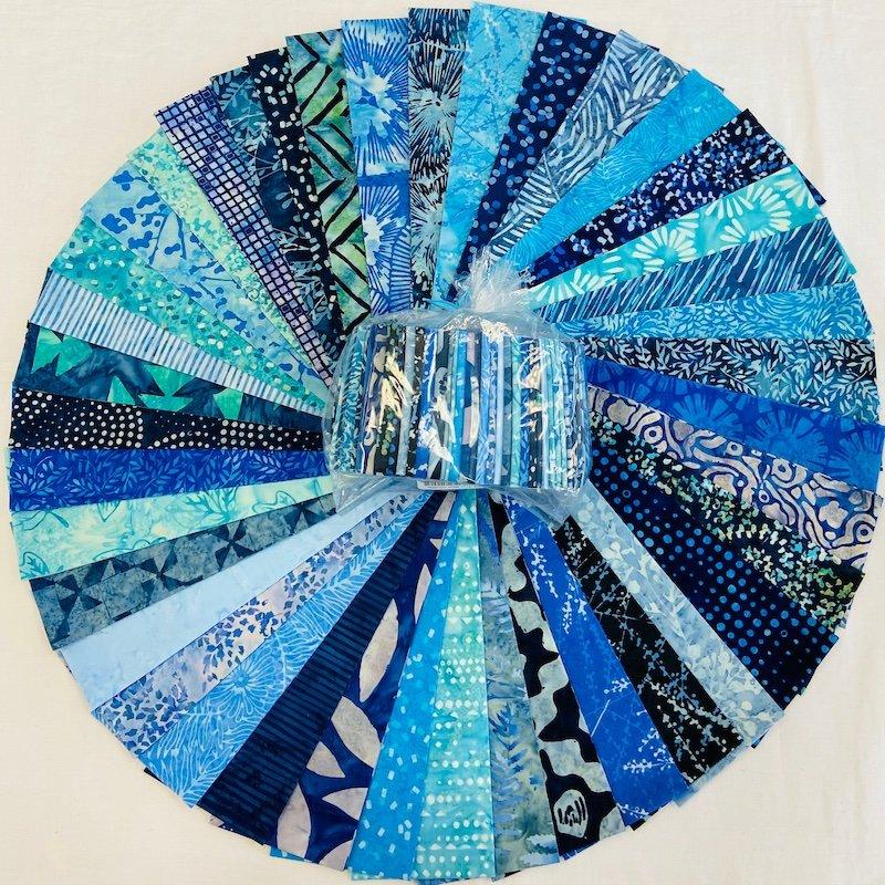 Batik True Blue Confetti Kit