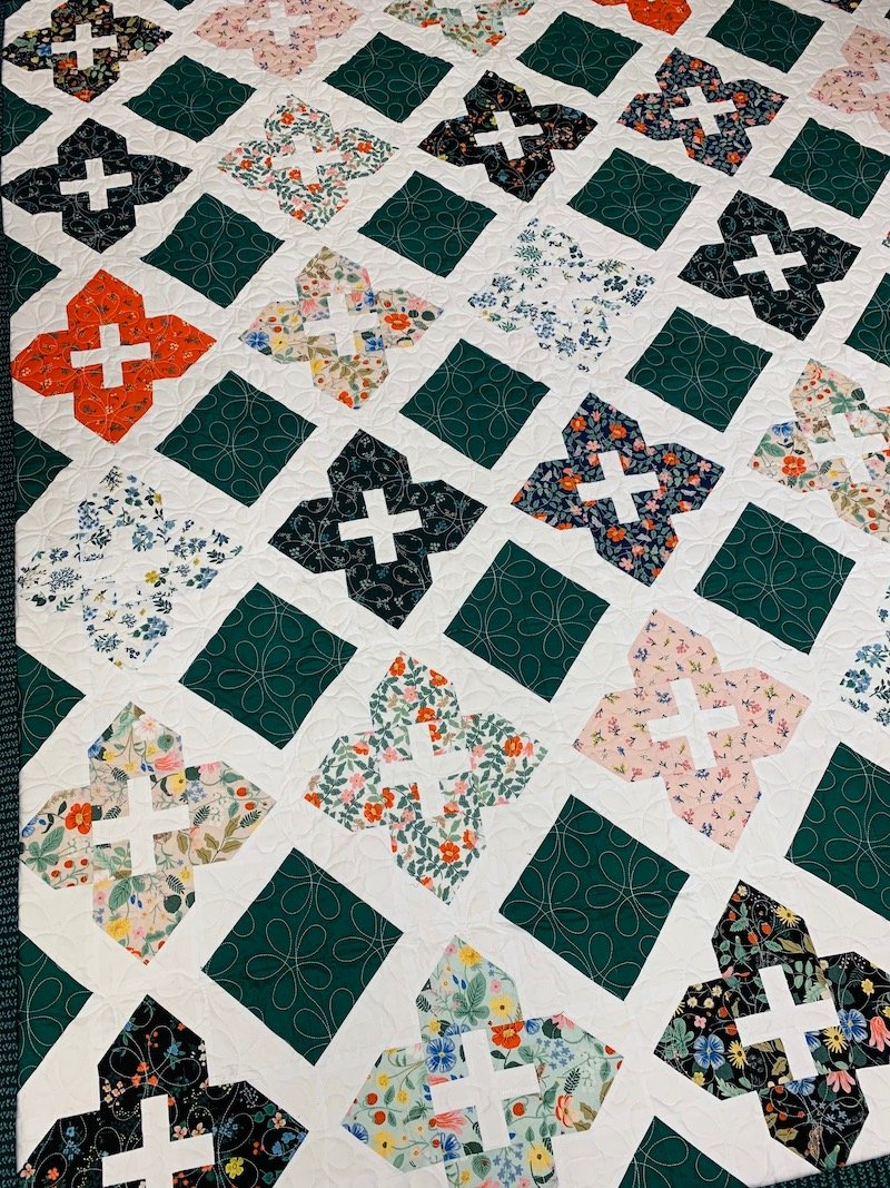 Stained Glass Windows Quilt Kit
