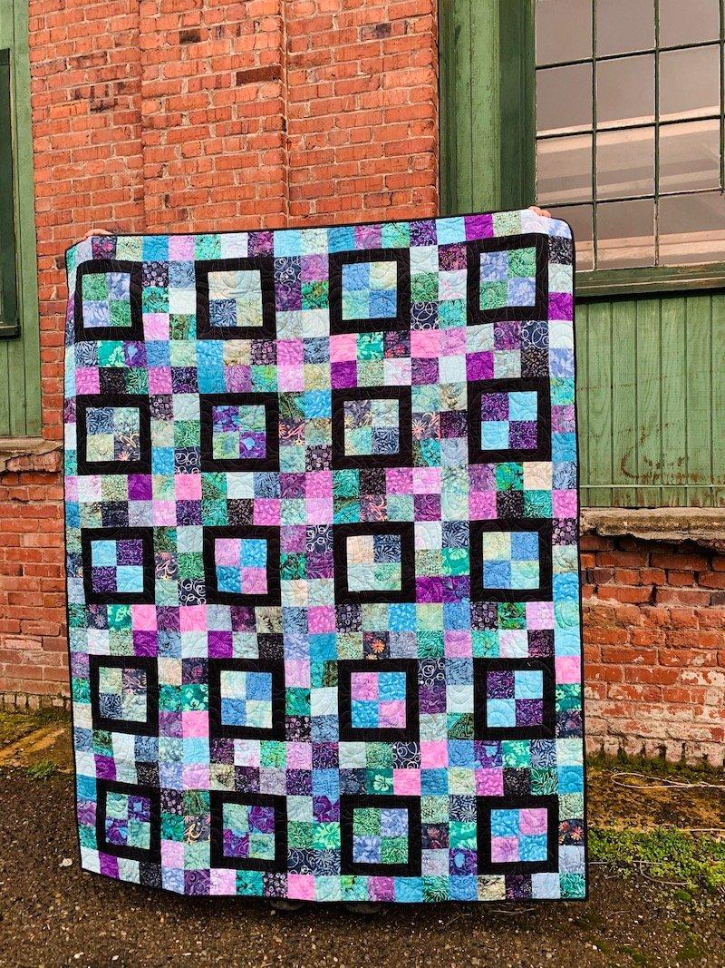 Confetti Squared Quilt Kit