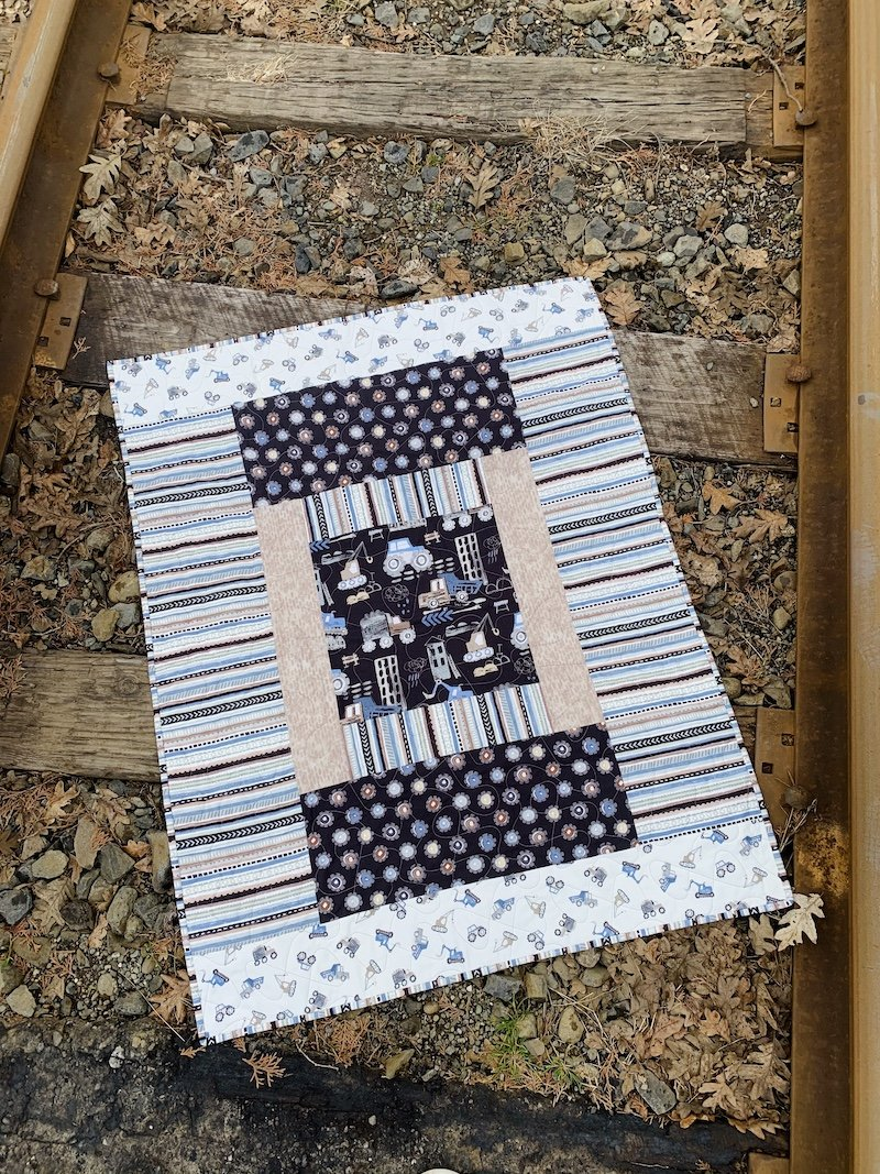 Diggers and Dumpers Quilt Kit