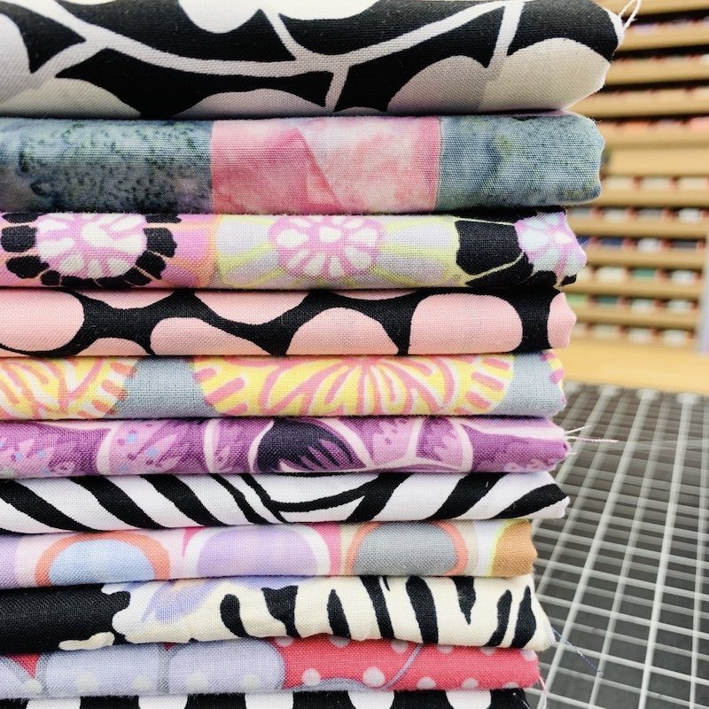 Green Diamonds Fabric Bundle