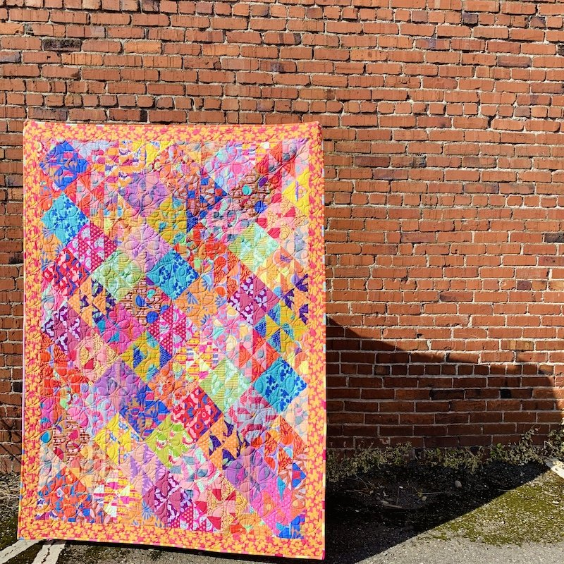 Flower Fields Quilt Kit