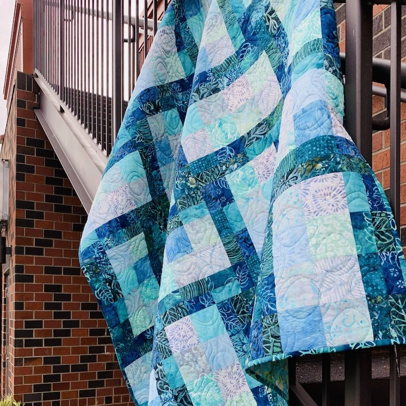 Crushed Pistachio Quilt Kit