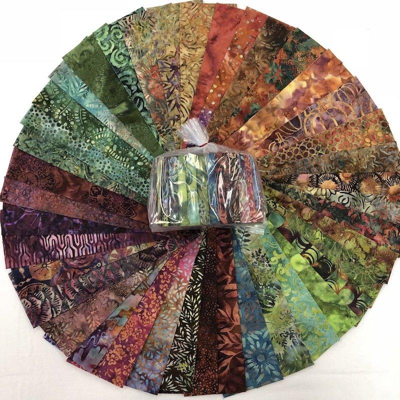 Batik Forest Floor Confetti Kit