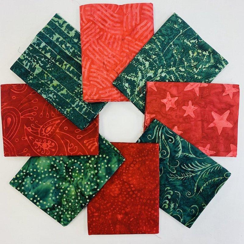 Batik Red & Green Bundle
