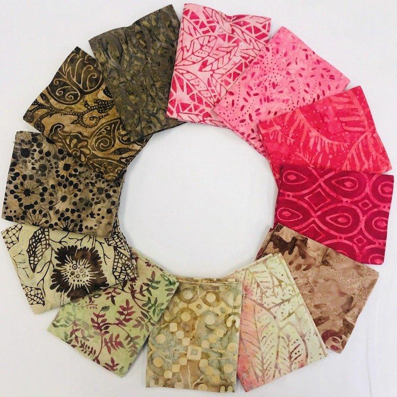 Batik Pink & Brown Bundle