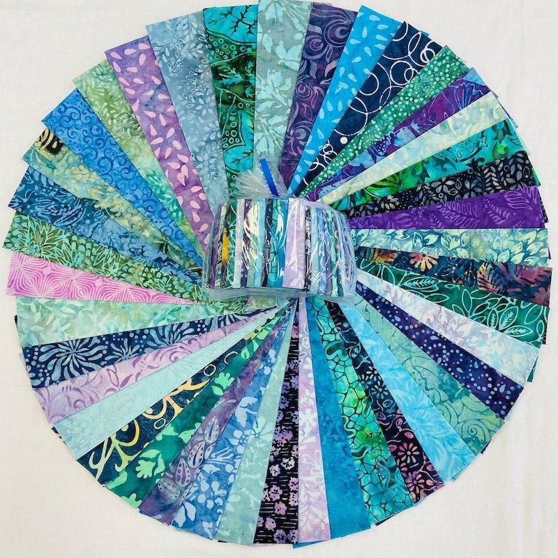 Batik Sea Glass Confetti Kit