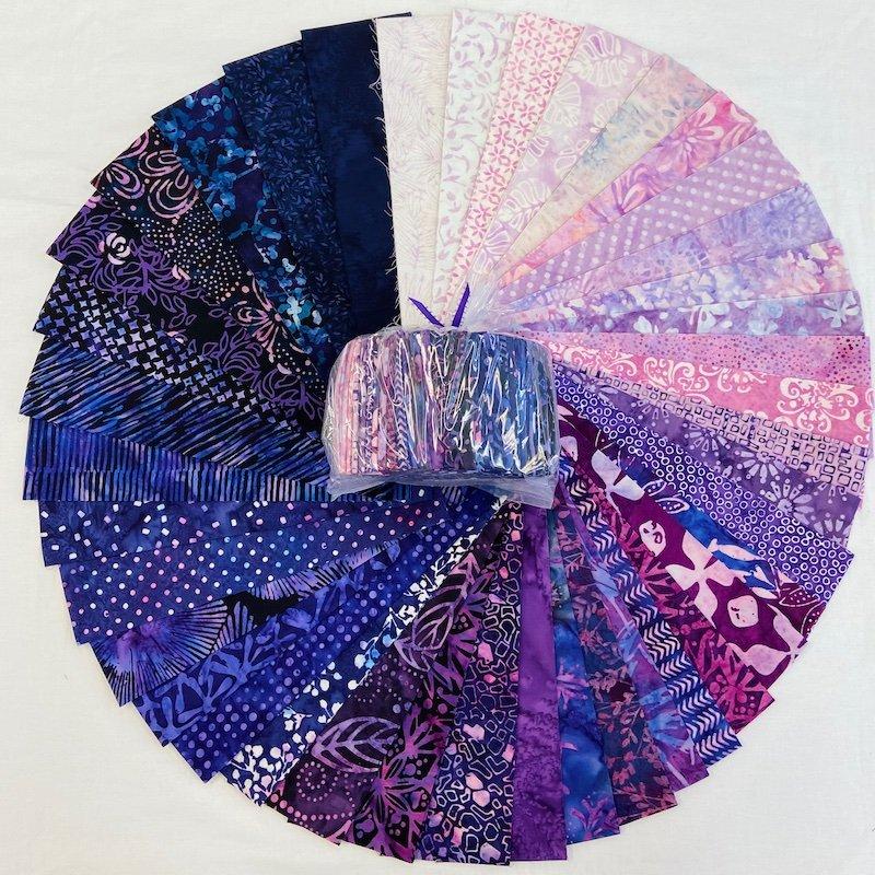 Batik Wisteria Confetti Kit