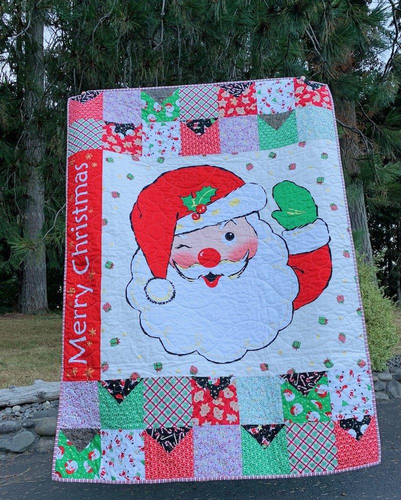 Letters to Santa Quilt Kit