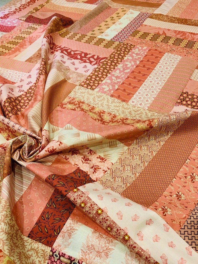 Pink Basket Quilt Kit