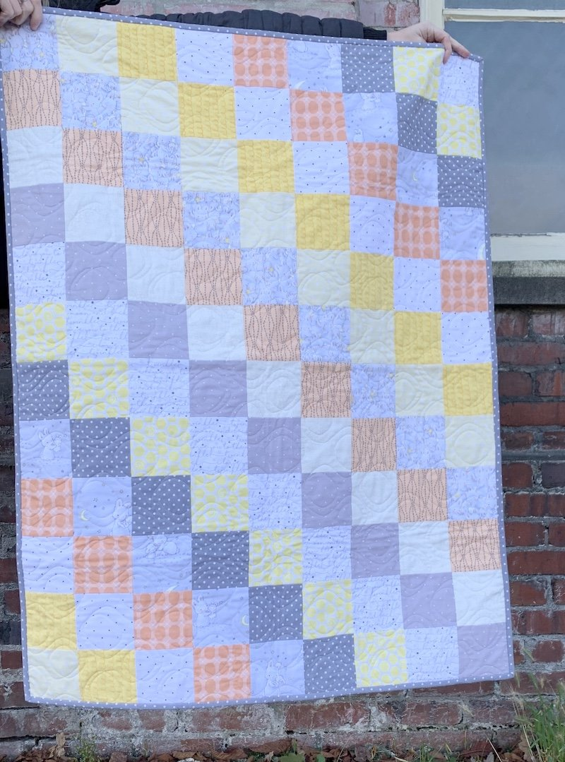 Bunny Flannel Quilt Kit