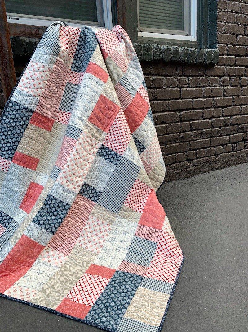 Brickwork Quilt Kit