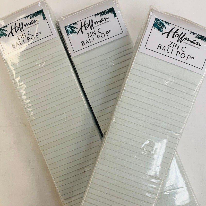 Bali Pops Zinc 2-1/2 inch strips