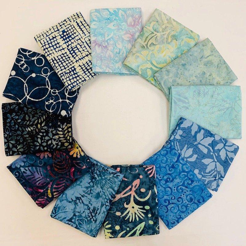Batik Blue Chill Bundle