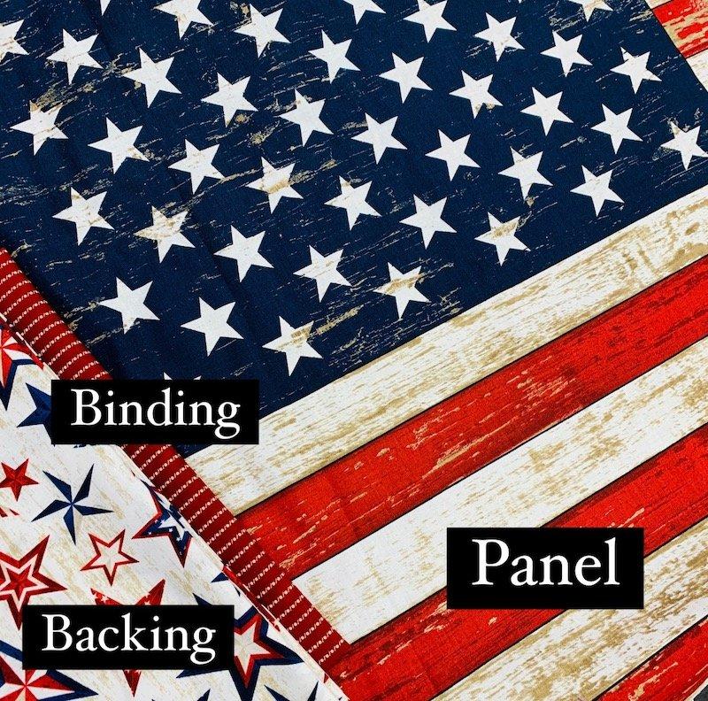 Flag Panel Quilt Kit