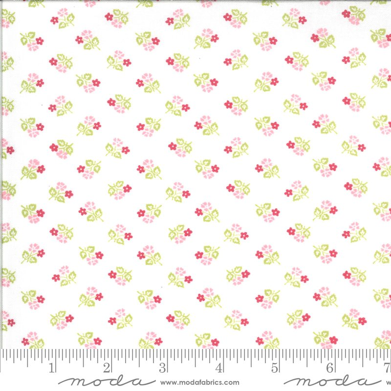 Sophie -Small Floral - Linen
