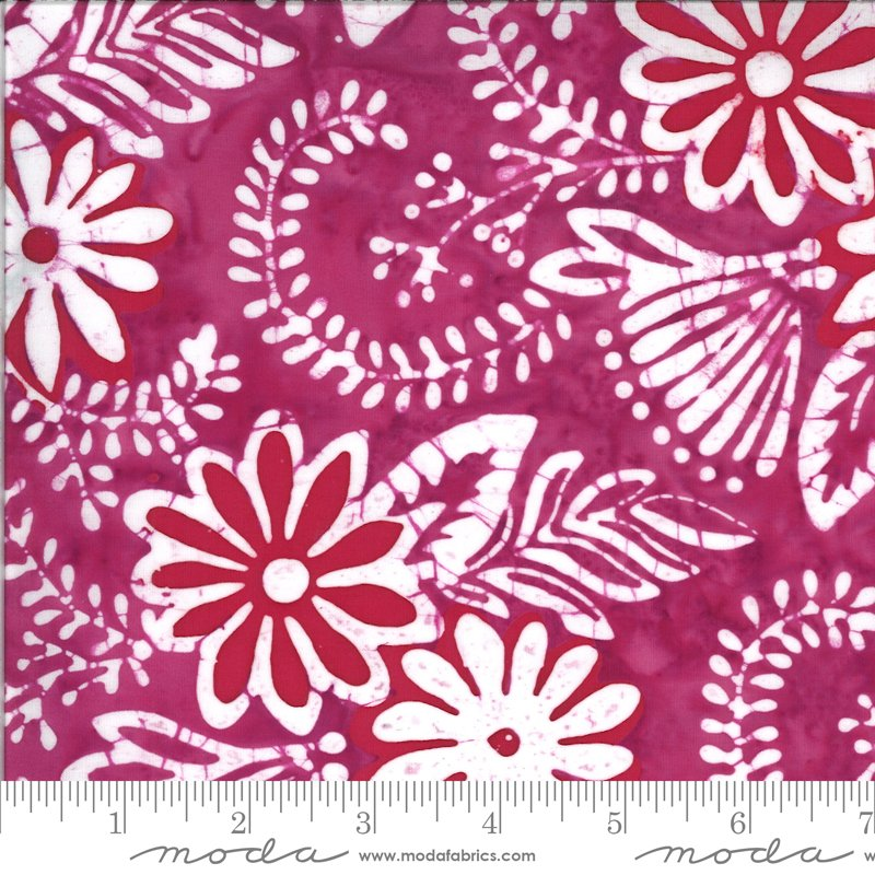 Confection Batiks - Raspberry
