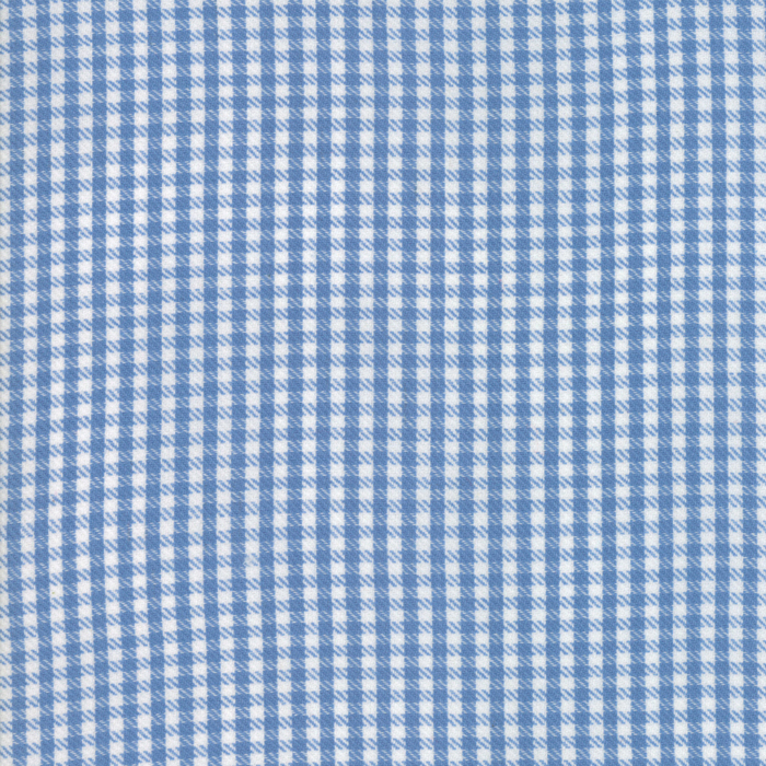 Oxford - Twill Check - Chambray Woven