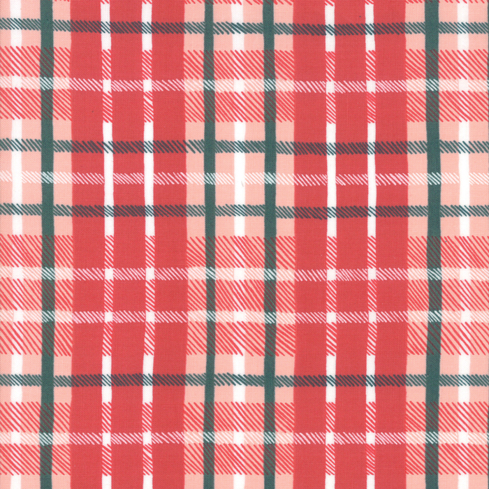 To Be Jolly - Christmas Plaid Berry