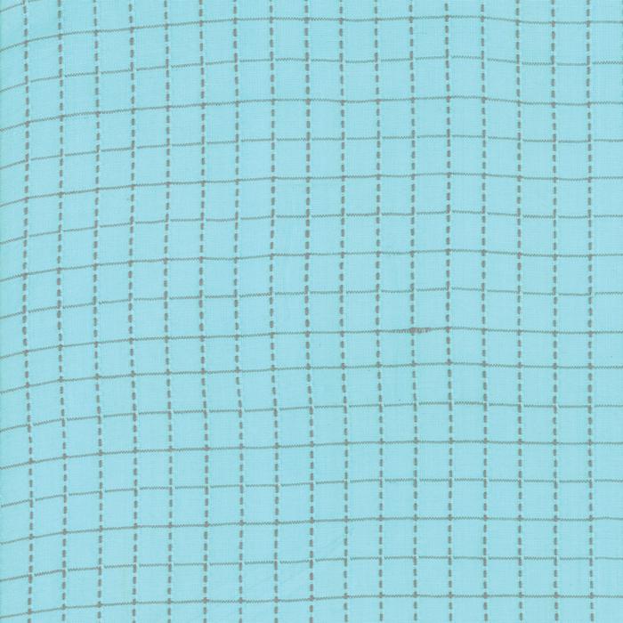 Sugarcreek Silky Woven - Sky Grid