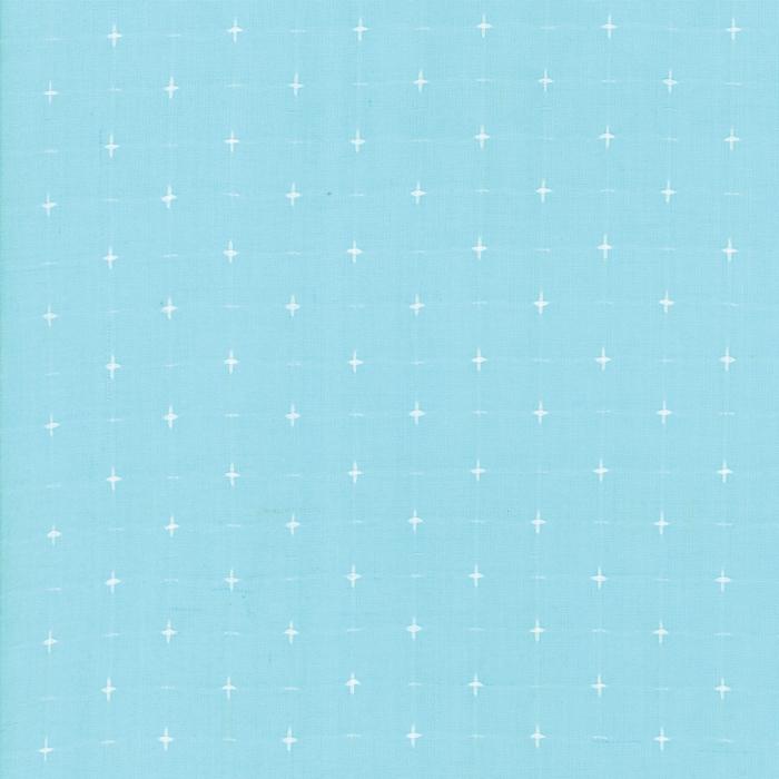 Sugarcreek Silky Woven - Sky Dot