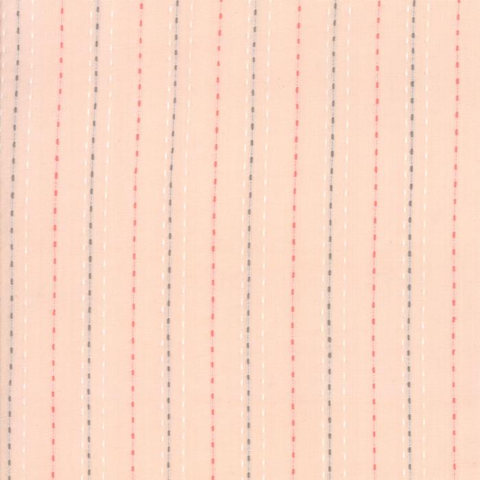 Sugarcreek Silky Woven - Blush Ticking