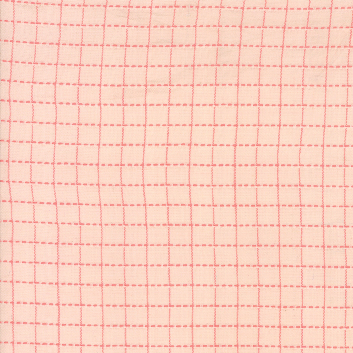 Sugarcreek Silky Woven - Blush Grid