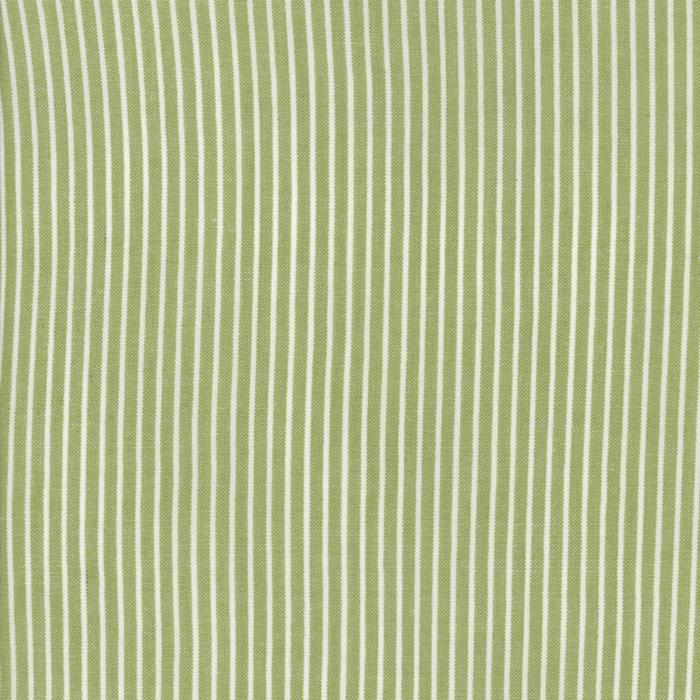 Oxford - Stripe - Green Woven