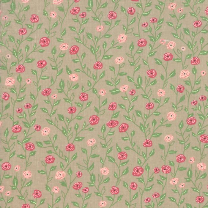 Bloomington - Pocket Full of Posies Taupe