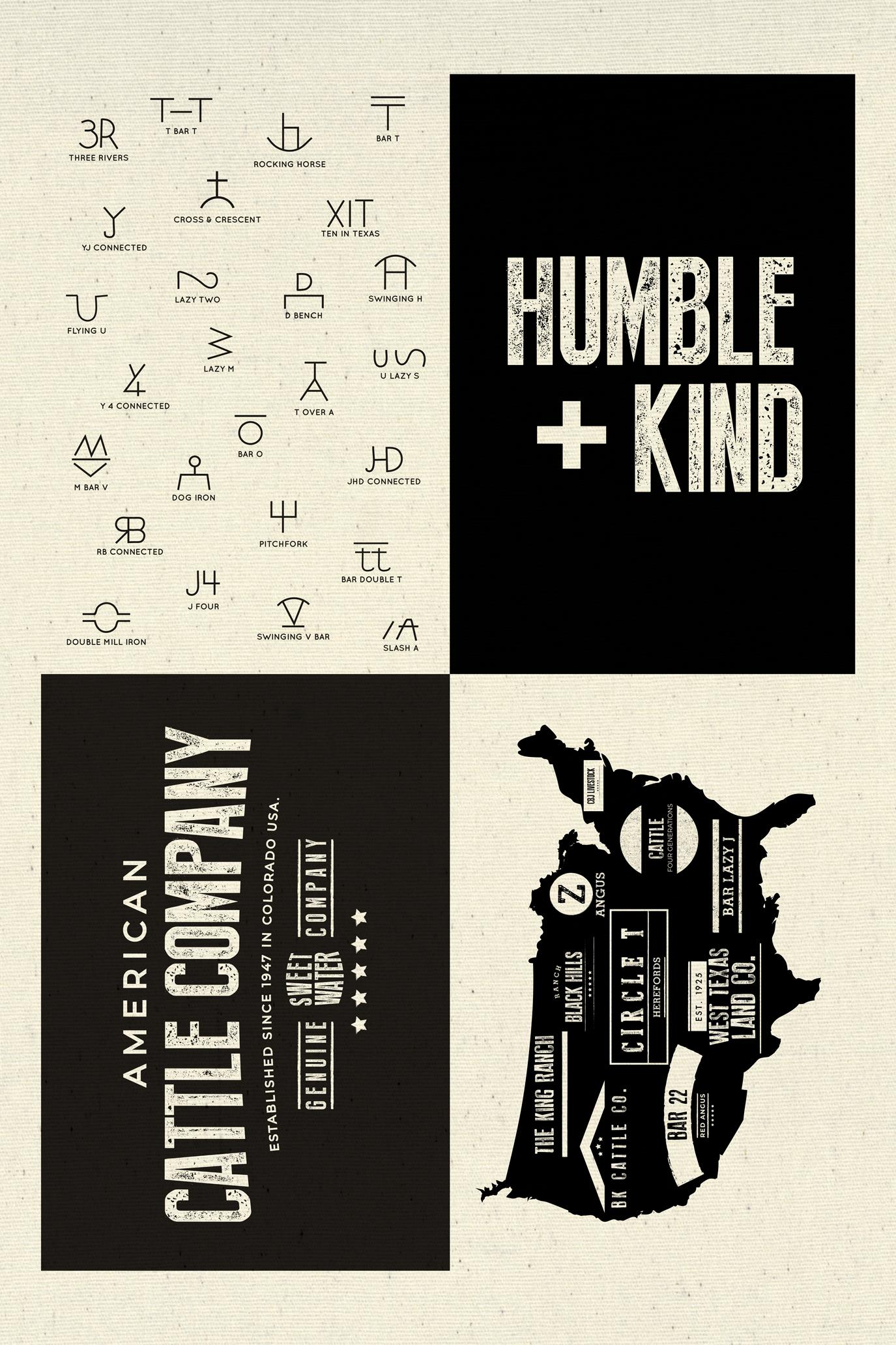 Printworks - Branded - Humble & Kind Sampler Panel