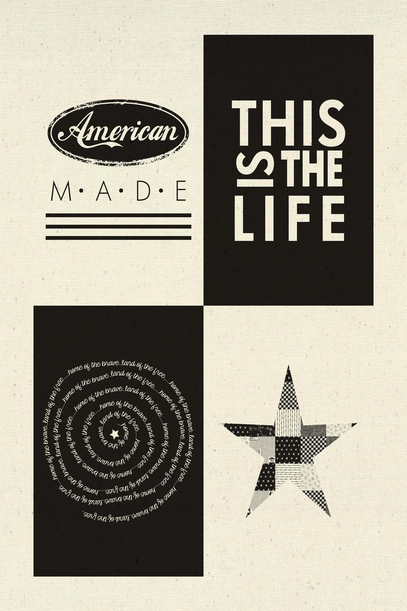 Printworks - Branded - American Made Sampler Panel