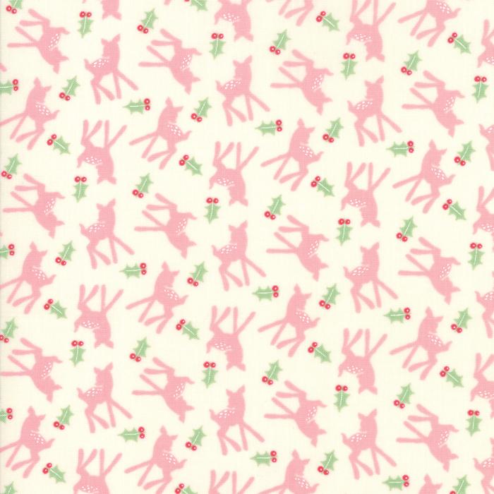 Deer Christmas - Oh Deer in Pink Buttermint