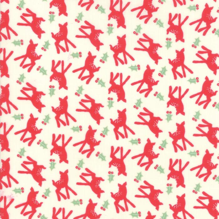 Deer Christmas - Oh Deer in Peppermint