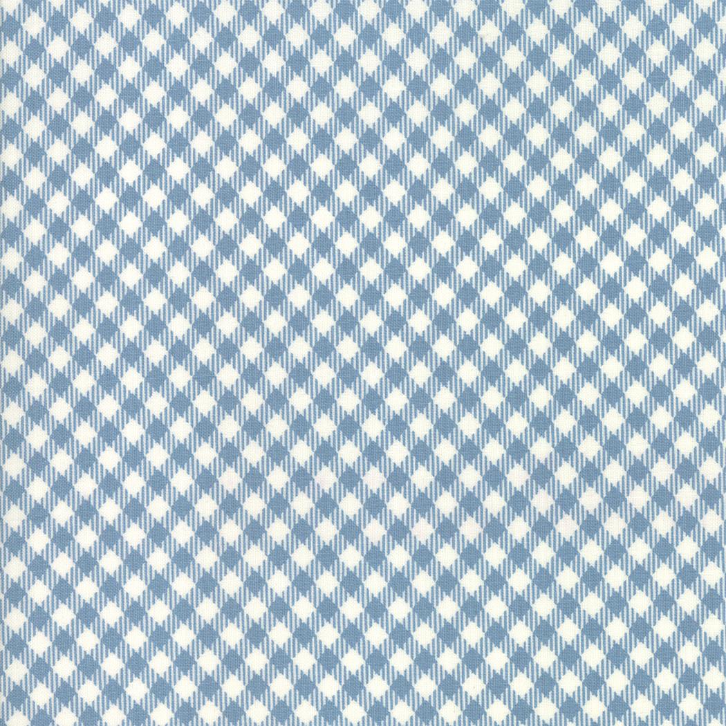 Branded Picnic Check Blue Jean/Cream