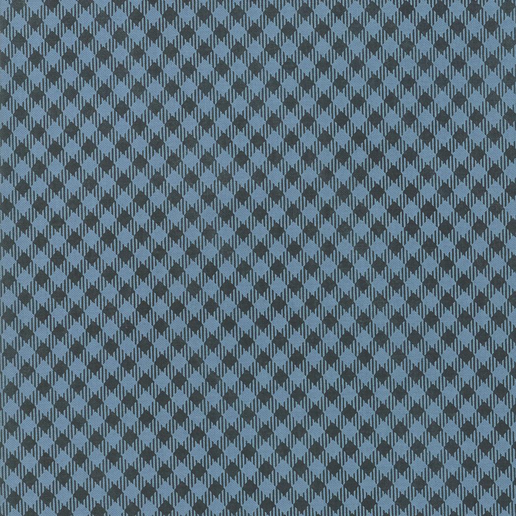 Branded Picnic Check Blue Jean